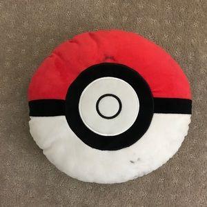 Second hand pokemon ball pillow